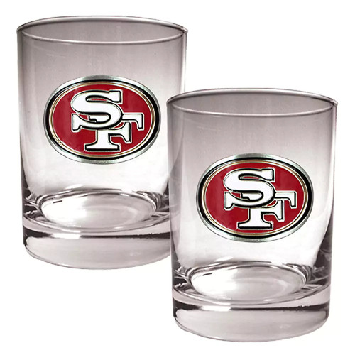 San Francisco 49ers Double Rocks Set