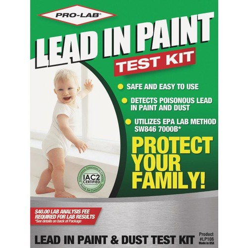 PRO-LAB Lead In Paint And Dust Test Kit LP106