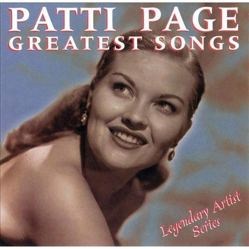 Patti Page: Greatest Songs [CD]