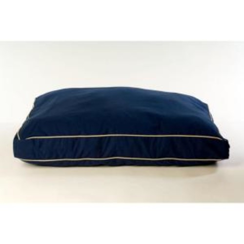 Medium Classic Twill Rectangle Jamison Bed - Blue