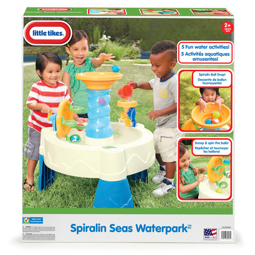 Little Tikes Spiralin' Seas Waterpark Table