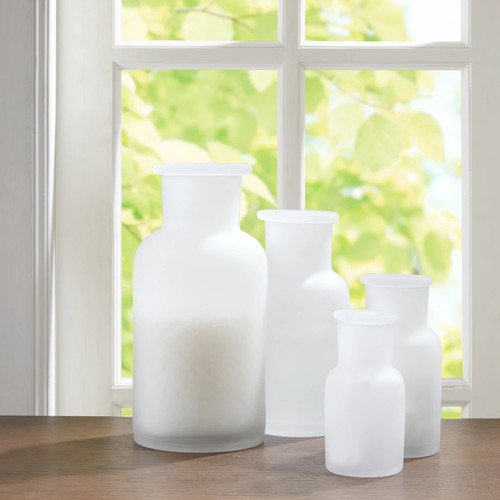 Madison Park Frosted Apothecary 4-pc Jar Set