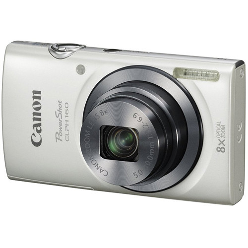 Canon PowerShot ELPH 160 20 Megapixel Compact Camera - Silver