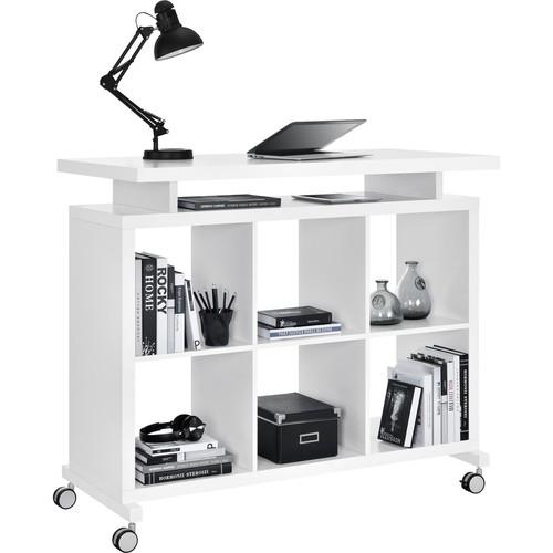 Altra Furniture Ameriwood Home Lincoln Multipurpose Standing Desk White