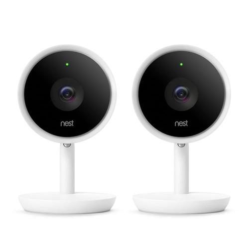Nest Cam IQ Indoor Security Camera (2-Pack)