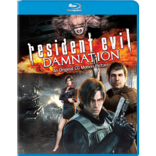 Resident Evil: Damnation (Blu-ray)