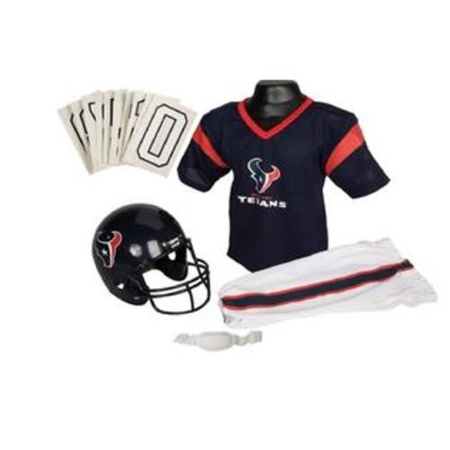 Franklin Sports 15701F34P1Z NFL TEXANS Medium Uniform Set