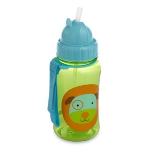 SKIP*HOP Zoo 12 oz. Dog Straw Bottle