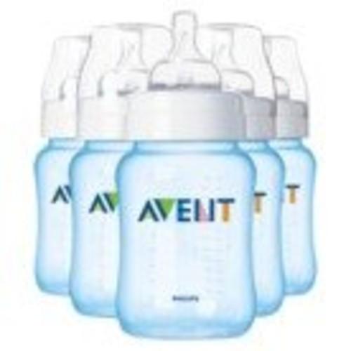 Avent 9 Oz. 5-pack Bottles (Blue)