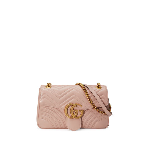 GUCCI Marmont Medium Leather Shoulder Bag