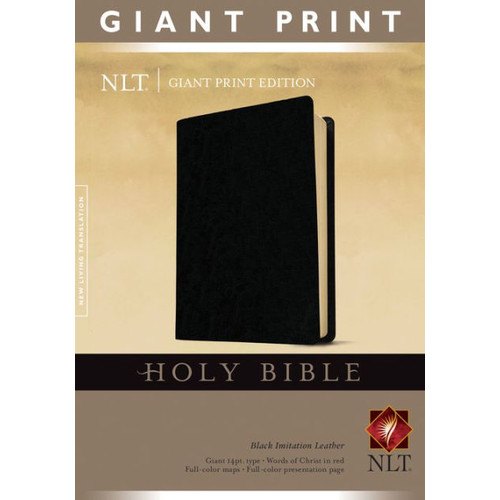 Holy Bible, Giant Print NLT