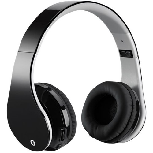 iLive - IAHB68B Wireless Over-the-Ear Headphones - Gray/Black