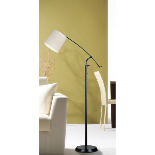 Kenroy Home 20812ORB Reeler Adjustable Floor Lamp, Oil Rubbed Bronze [Oil-rubbed Bronze]