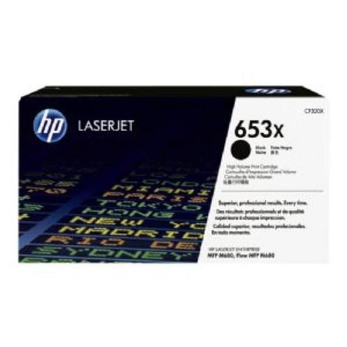 HP 652X, (CF320X) High Yield Black Original LaserJet Toner Cartridge