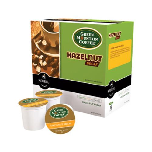 Keurig K-Cup Green Mountain Hazelnut Decaf, 18-Pack