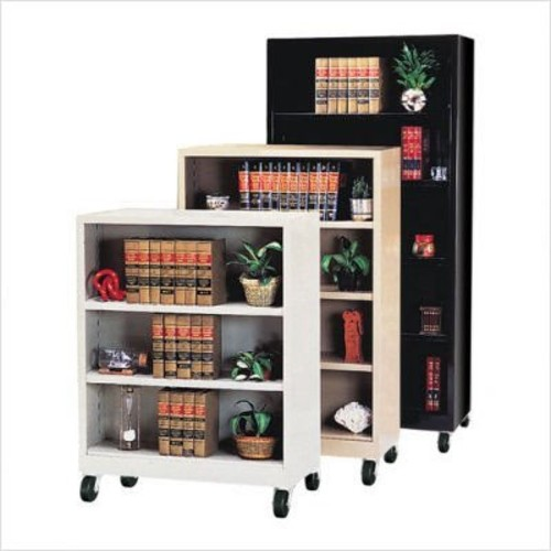 Sandusky Lee BM30361852-02 Elite Series Welded Mobile Bookcase, 18