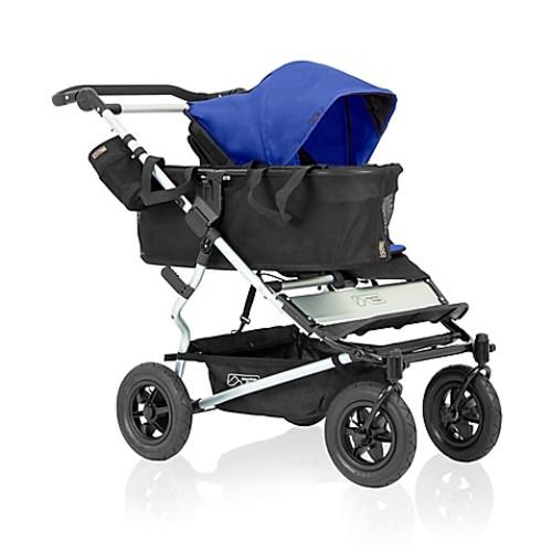 Mountain Buggy Duet Single Stroller in Cobalt