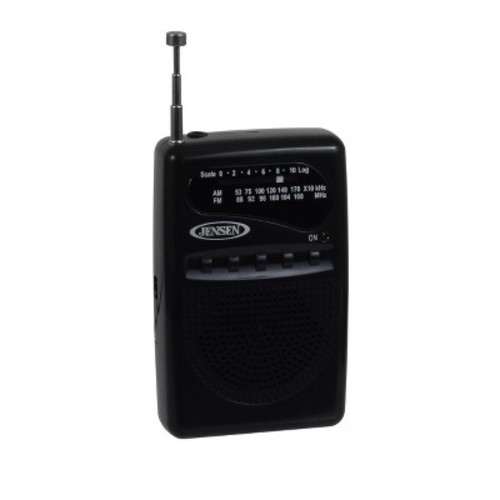 Jensen AM/FM Pocket Radio