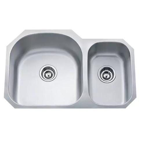 Soci 70/30 Stainless Steel Kitchen Sink