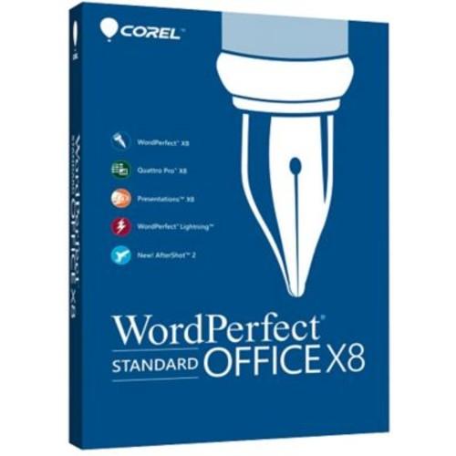 Corel WordPerfect Office X8 Standard Upgrade for Windows (1 User) [Download]