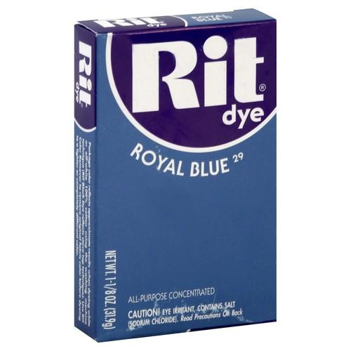 Rit Dye, Royal Blue 29 1.125 oz (31.9 g)