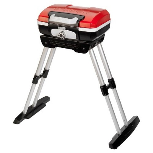 Cuisinart Petite Gourmet Portable Grill With Stand - Red