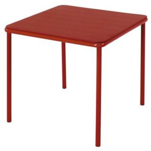 Cosco Home and Office Products Kids Square Vinyl Top Table