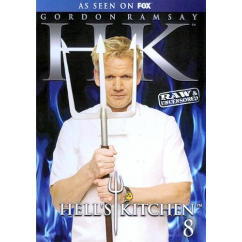 Hell's Kitchen: Season 8 [3 Discs] [DVD]