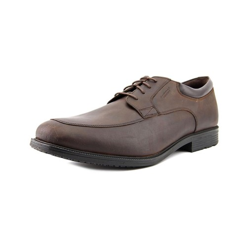Rockport Essential Details Men Apron Toe Leather Oxford