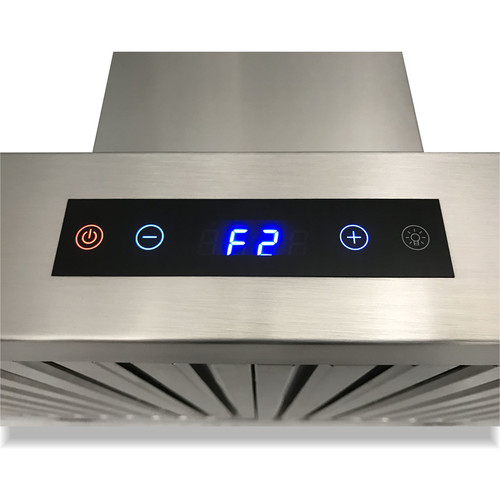 Cavaliere Ducted Wall-Mounted Range Hood (Stainless steel) (Common: 30-in; Actual: 29.5-in)
