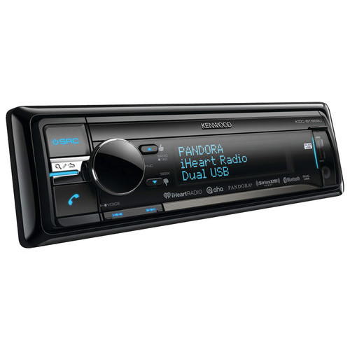 Kenwood - CD - Built-In Bluetooth - Apple iPod-Ready - In-Dash Receiver - Black