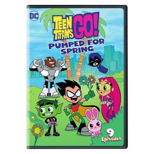 Teen Titans Go! Pumped for Spring (DVD)