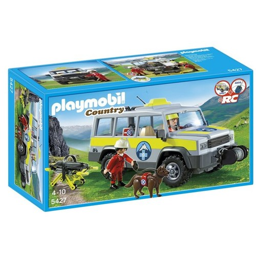Playmobil Mountain Rescue Truck Playset