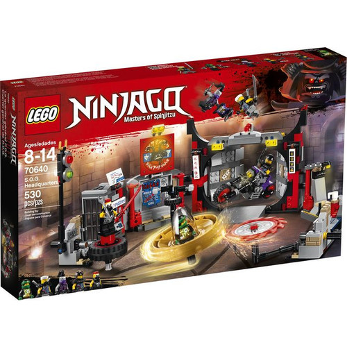 LEGO Ninjago S.O.G. Headquarters 70640