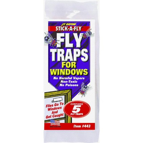 JT Eaton Stick-A-Fly Fly Trap For Windows - 443
