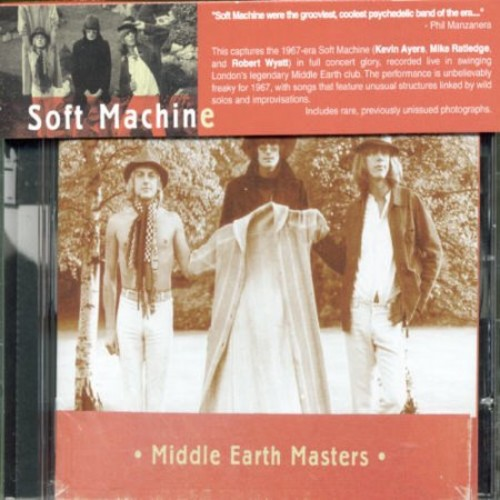 Middle Earth Masters [CD]