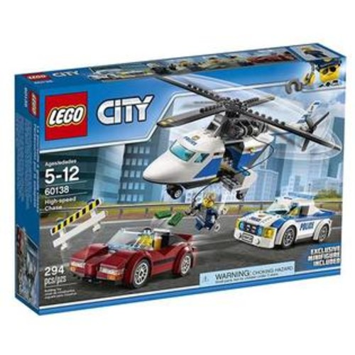 LEGO City Police HighSpeed Chase Building Set