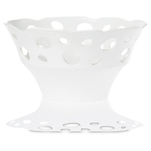 Lanterna Tall Bowl, White