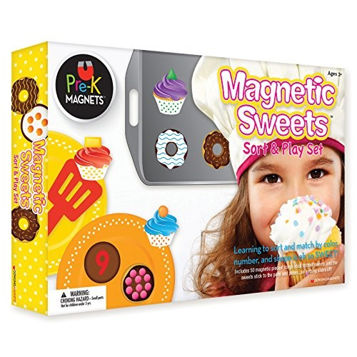 Dowling Magnets Magnetic Sweets Sort and Play Set