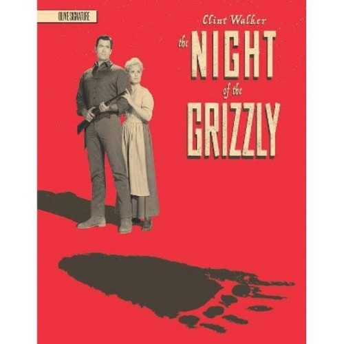 Night Of The Grizzly (Blu-ray)