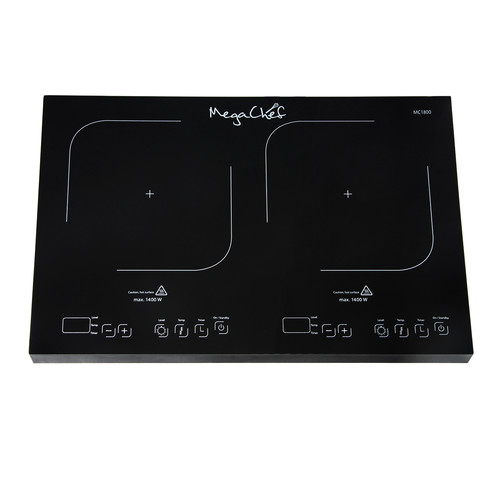 Megachef 97099674M Portable Dual Induction Cooktop