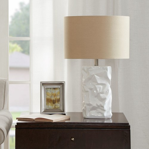 Madison Park Crimp Table Lamp