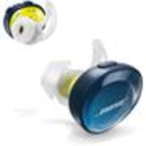Bose SoundSport Free wireless in-ear headphones (Midnight Blue/Yellow Citron)