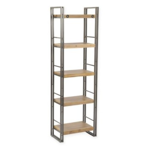 Moe's Home Collection Brooklyn 75-Inch Open-Shelf Bookcase