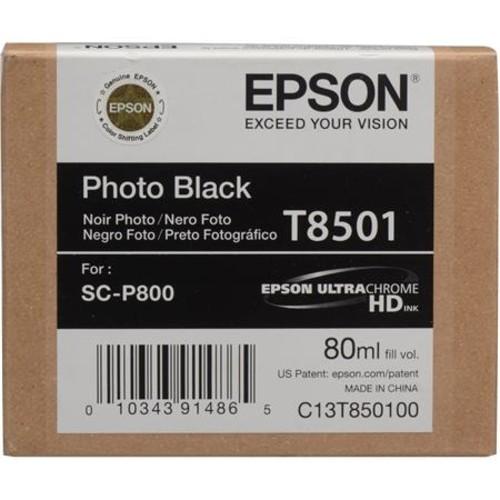 Epson T850 Ultrachrome HD Ink Bundle, for SureColor P800 T850100 K