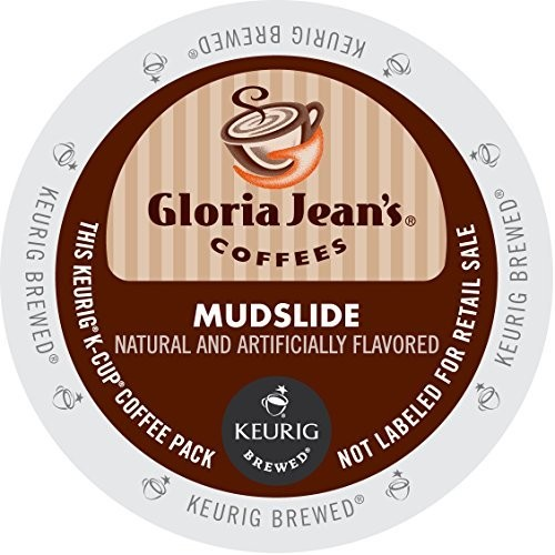 Gloria Jean's Coffees, Mudslide, K-Cup Portion Pack for Keurig Brewers 24-Count [24 Count]
