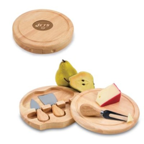 Picnic Time New York Jets Brie Cheese Board Set