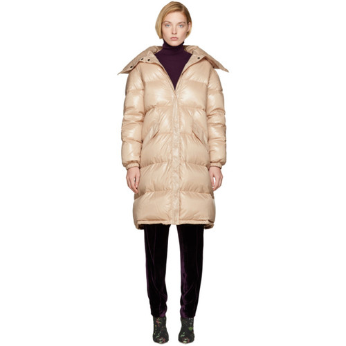 NINA RICCI Pink Long Down Coat