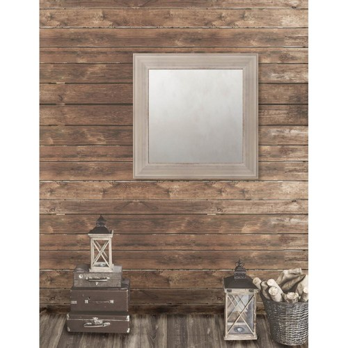Larson-Juhl Pinnacle 31.5 in. x 31.5 in. French Antique Wide Framed Antique Mirror