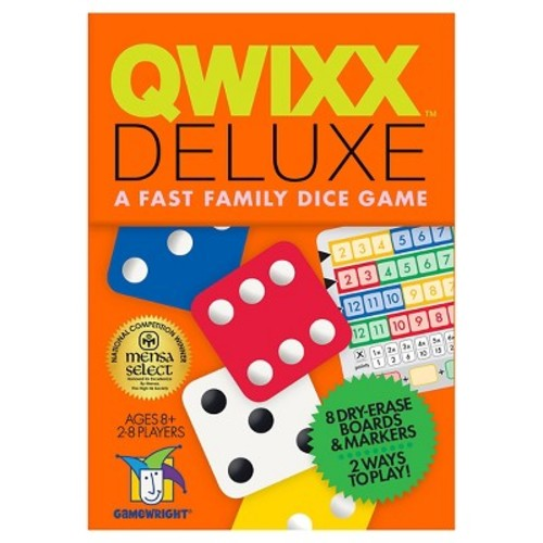 Qwixx Deluxe Fast Family Dice Game